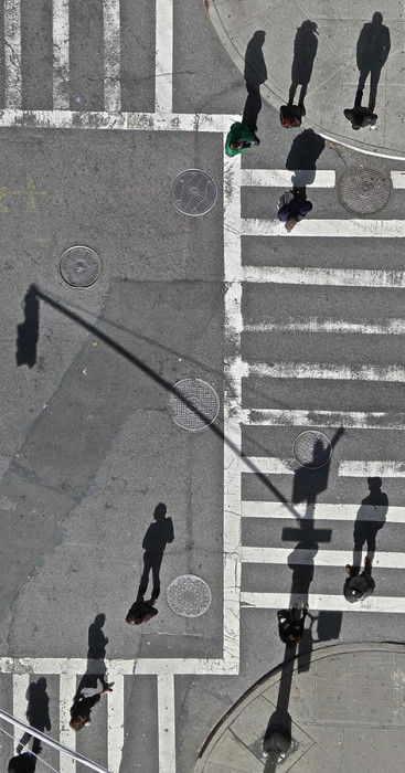 Cross Walk Shadows